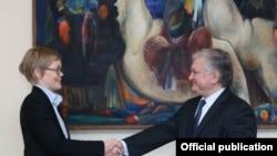 Фотография – пресс-служба МИД Армении