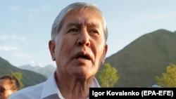 Қырғызстанның бұрынғы президенті Алмазбек Атамбаев. Кой-Таш, 19 шілде 2019 жыл.