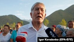 Former Kyrgyz President Almazbek Atambaev is scheduled to face trial beginning on October 11.