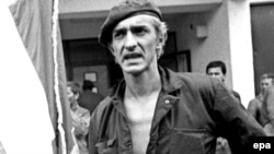 Serbian paramilitary commander Dragan Vasiljkovic, pictured in 1991.
