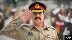 The supreme commander of the Pakistani Army, General Raheel Sharif (file photo)