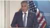 Reza Pahlavi, son of late Muhammad Reza Shah Pahlavi, speaking at The Washington Institute, December 15, 2018.