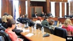 Работна средба за нов закон за високо образовани, февруари 2015.