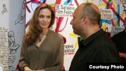 Angelina Jolie i Mirsad Purivatra