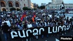 Էլեկտրաէներգիայի թանկացման դեմ մայիսի 27-ի ակցիան Երևանում