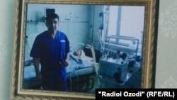 Сотрудник согдийского областного Центра сердечно-сосудистой хирургии Абдумалик Саломов.