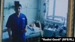 Абдумалик Саломов, Соғды облысындағы Жүрек-қан тамырлары хирургиясы орталығының дәрігері.