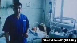 Известный таджикский хирург Абдумалик Саломов.