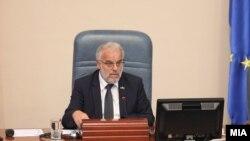 Архива - Претседателот на Собранието, Талат Џафери.