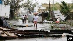 Штети по тајфунот Мангкут во Филипини