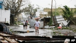 """""""Мангхут"""" дауылынан кейінгі көрініс. Филиппин, 15 қыркүйек 2018 жыл."""