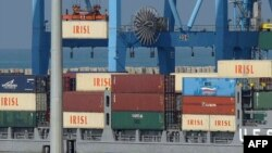 The Islamic Republic of Iran Shipping Lines group was blacklisted by the United States last year. (file photo)