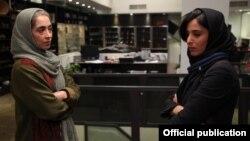 """Кадр из иранского короткометражного художественного фильма """"Дуэт""""."""
