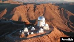 Телескоп Blanco в чилийских Андах