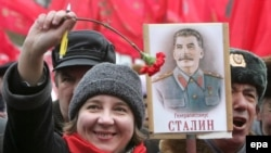 Две соседние страны объединяет общее прошлое. Митинг, организованный украинскими коммунистами