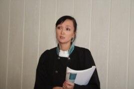 Акназик Коразбаева, судья специализированного межрайонного суда Алматы. Алматы, 23 сентября 2013 года.