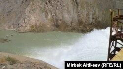 Кировское водохранилище в Таласской области Кыргызстана.