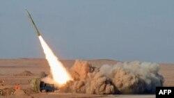 Raketat balistike e Iranit. Foto arkiv
