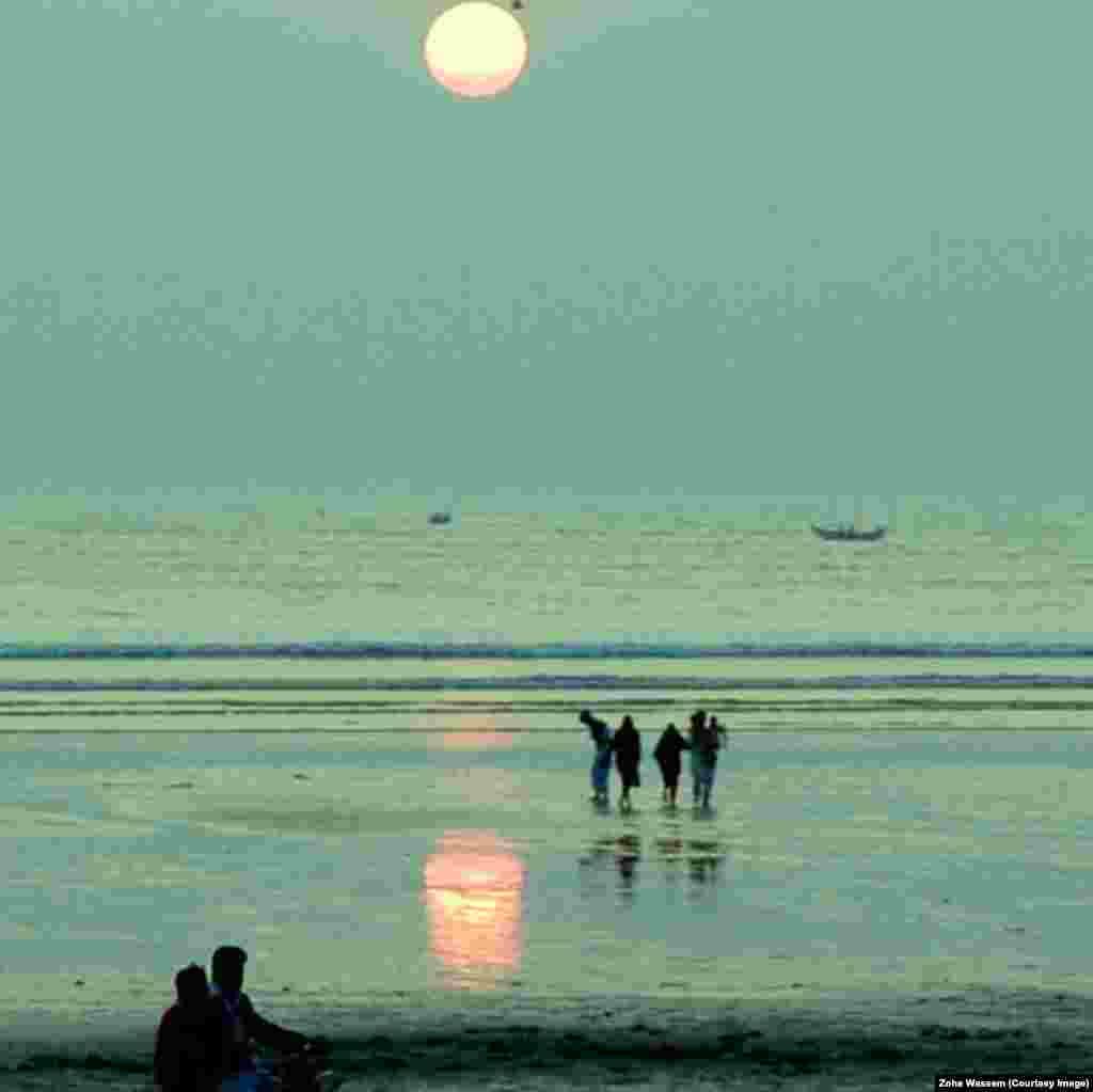 Karachi's Clifton Beach.