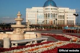 Здание Акорды, резиденции президента Казахстана. Фото с официального сайта президента Казахстана Нурсултана Назарбаева.