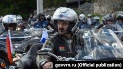 Віктар Лукашэнка на мотафэстывалі ў Варонежы, ілюстрацыйнае фота