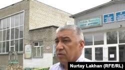 Руководитель отдела образования Аягозского района Нургали Азимбаев.