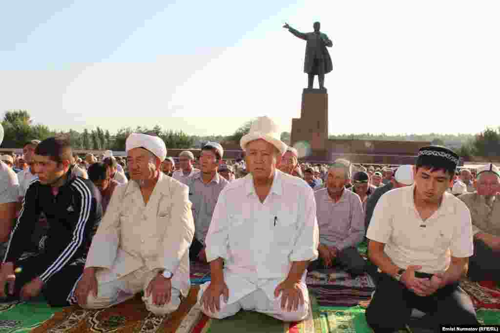 In the southern Kyrgyz city of Osh