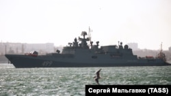 Военный корабль Чернорского флота России