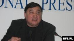 Главный редактор газеты «Алма-Ата – Инфо» Рамазан Есергепов. Алматы, 20 октября 2008 года.