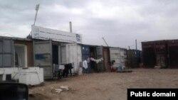"""Астанадағы """"Шарын"""" базары. Астана, 20 тамыз 2012 жыл. Сурет Facebook парақшасынан алынды."""