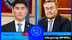 Чингиз Айдарбеков и Мухтар Тлеуберди.