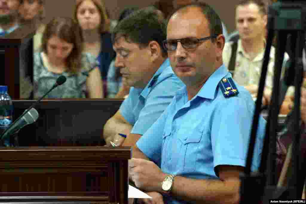 Прокурор Олег Ткаченко
