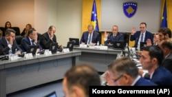 Mbledhje e Qeverisë së Kosovës