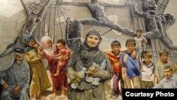 لوحة لعبد الأمير المالكي