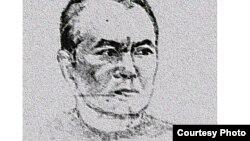"""Акмухаммет Байханов. Портрет во время содержания в """"Овадан Депе"""" нарисовал один из заключенных - бывший сотрудник КГБ."""