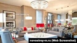 Хол у ЖК Barkli Plaza в Москві