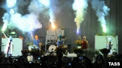 Members of the amorphous female punk group Pussy Riot sparked a firestorm when they performed during a break in a concert in Moscow by Faith No More on July 2.