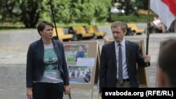 Тацяна Караткевіч і Аляксей Янукевіч
