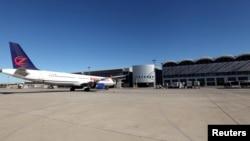 یکی از هواپیماهای شرکت زاگرسجت در فرودگاه بینالمللی اربیل