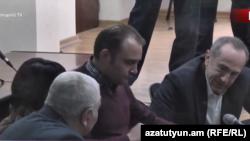 Заседание по делу Роберта Кочаряна и других, Ереван, 21 января 2020 г.