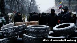 Протестувальники під Верховною Радою України, 6 грудня 2017 року
