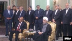 جاكوب زوما رییس جمهوری آفریقای جنوبی در ایران