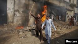 Протесты в Пакистане