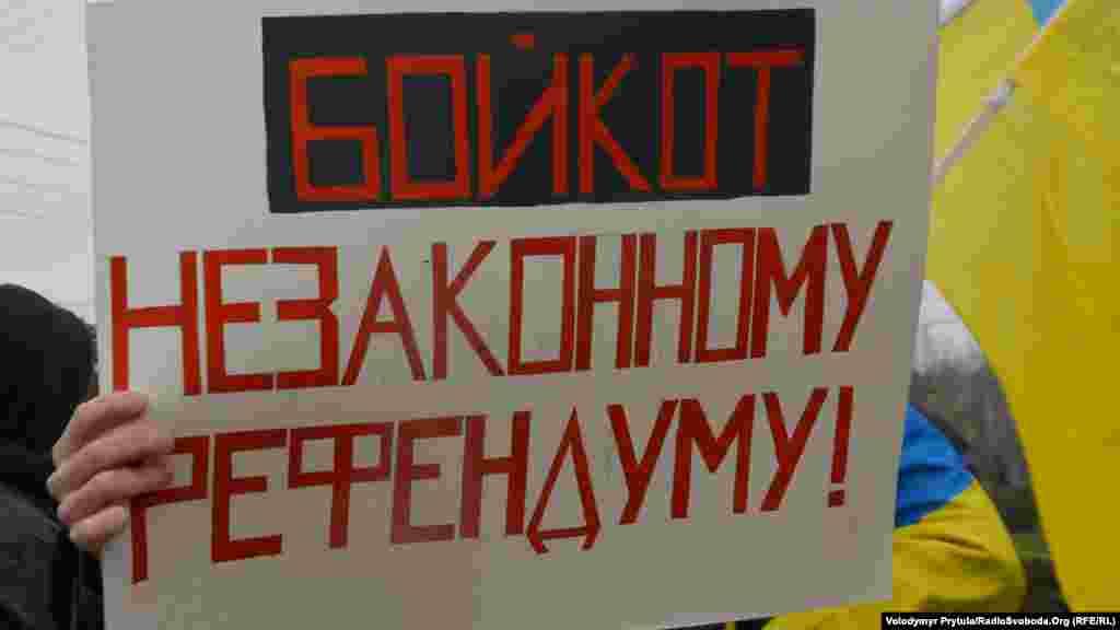 Во время оккупации Крыма памятник стал символом сопротивления украинцев российскому захвату