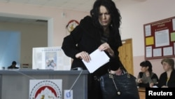 Гласањето во Јужна Осетија