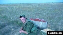 """Антон Туманаў, Растоўская вобласьць, 19 ліпеня. Фота з """"Вконтакте"""""""