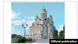 The project of the St. Catherine church in Yekaterinburg -- is there more to come?