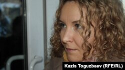 """Tatyana Trubacheva, editor in chief of the newspaper """"Golos respubliki,"""" is expected to face trial on February 7."""