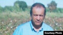Өзбектің диссидент ақыны Жұма Юсуп. Ташкент, 2005 жыл.