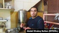 خالد مولود نادل يحمل شهادة ماجستير في التاريخ